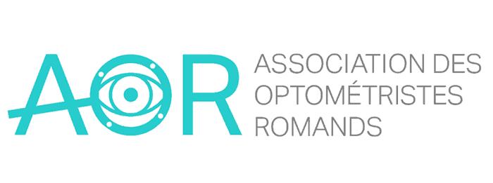 Logo AOR, optométriste de Suisse romande, Blinka, optometriste opticien à annecy-argonay